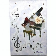 Girl playing piano_canvas
